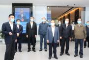 广西达译科技有限公司参加中国-东盟信息港建设指挥部调研的汇报工作